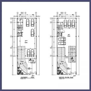 نقشه معماری 19*10 جنوبی